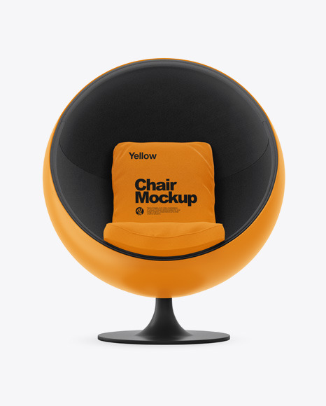 Ball Chair Mockup Set