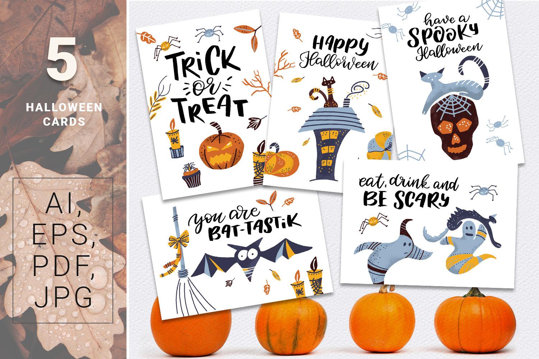 BOO! - Halloween design kit