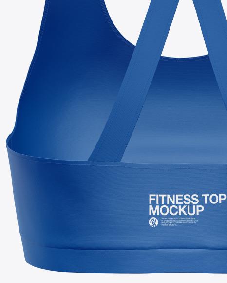 Women's Fitness Top Mockup
