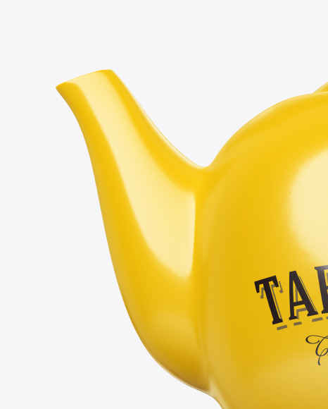 Ceramic Teapot Mockup