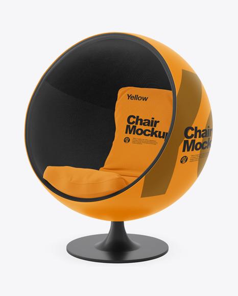 Ball Chair Mockup