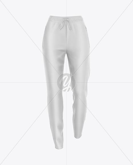Women's Pants Mockup - Front View