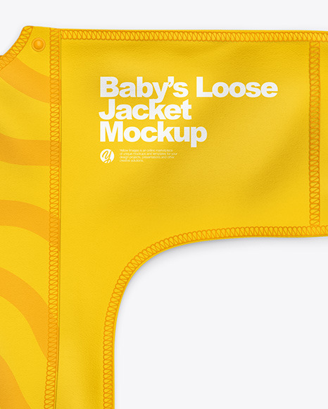 Baby's Loose Jacket Mockup