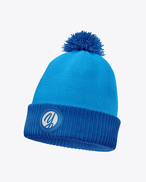 Winter Hats Mockup
