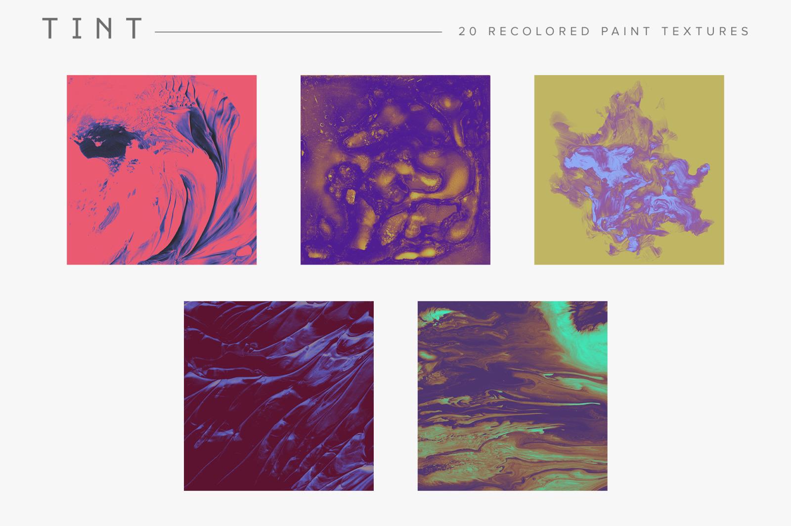Recolored Paint Bundle (Save 40%)