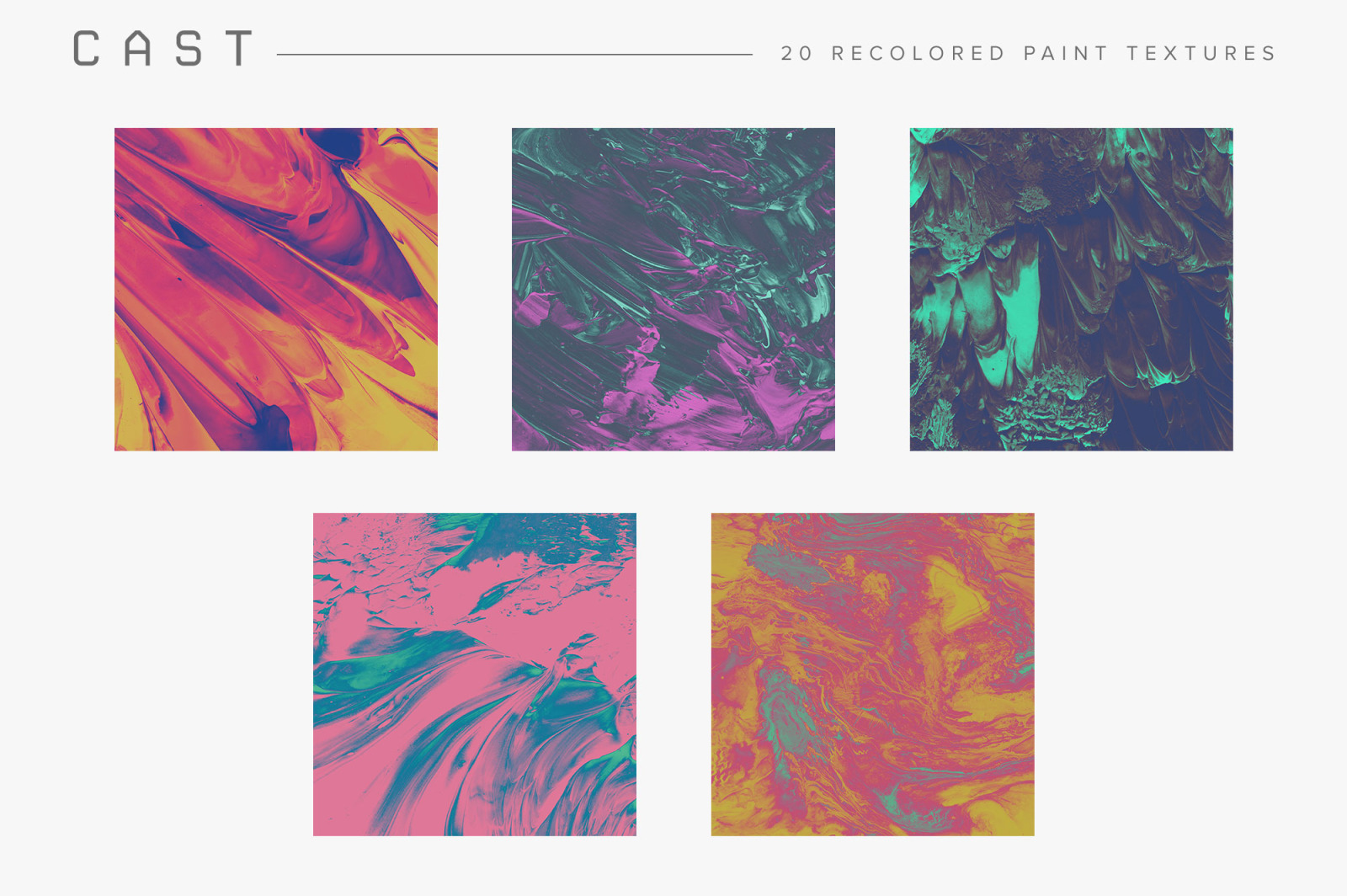 Recolored Paint Bundle (Save 40%)
