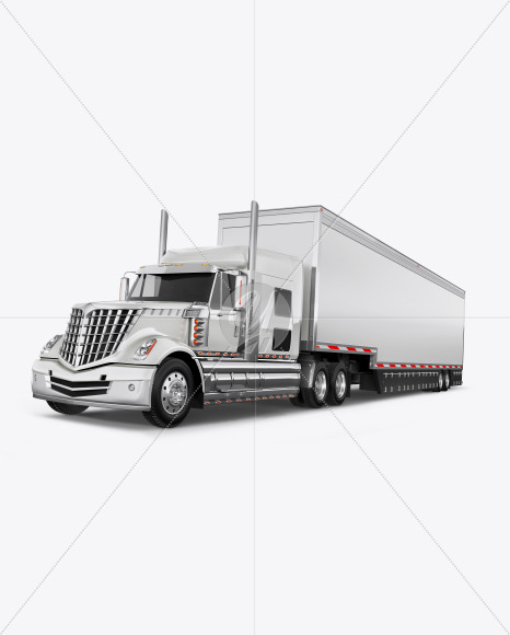 Truck Mockup - Half Side View (Hero Shot) - Yellowimages Mockups