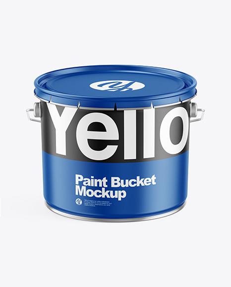 Matte Paint Bucket
