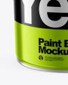Metallic Paint Bucket