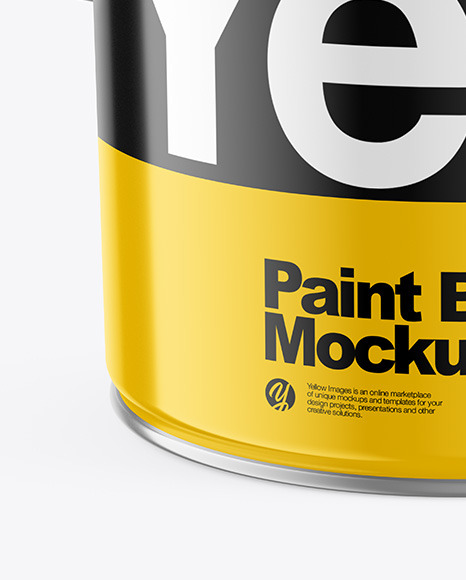 Glossy Paint Bucket