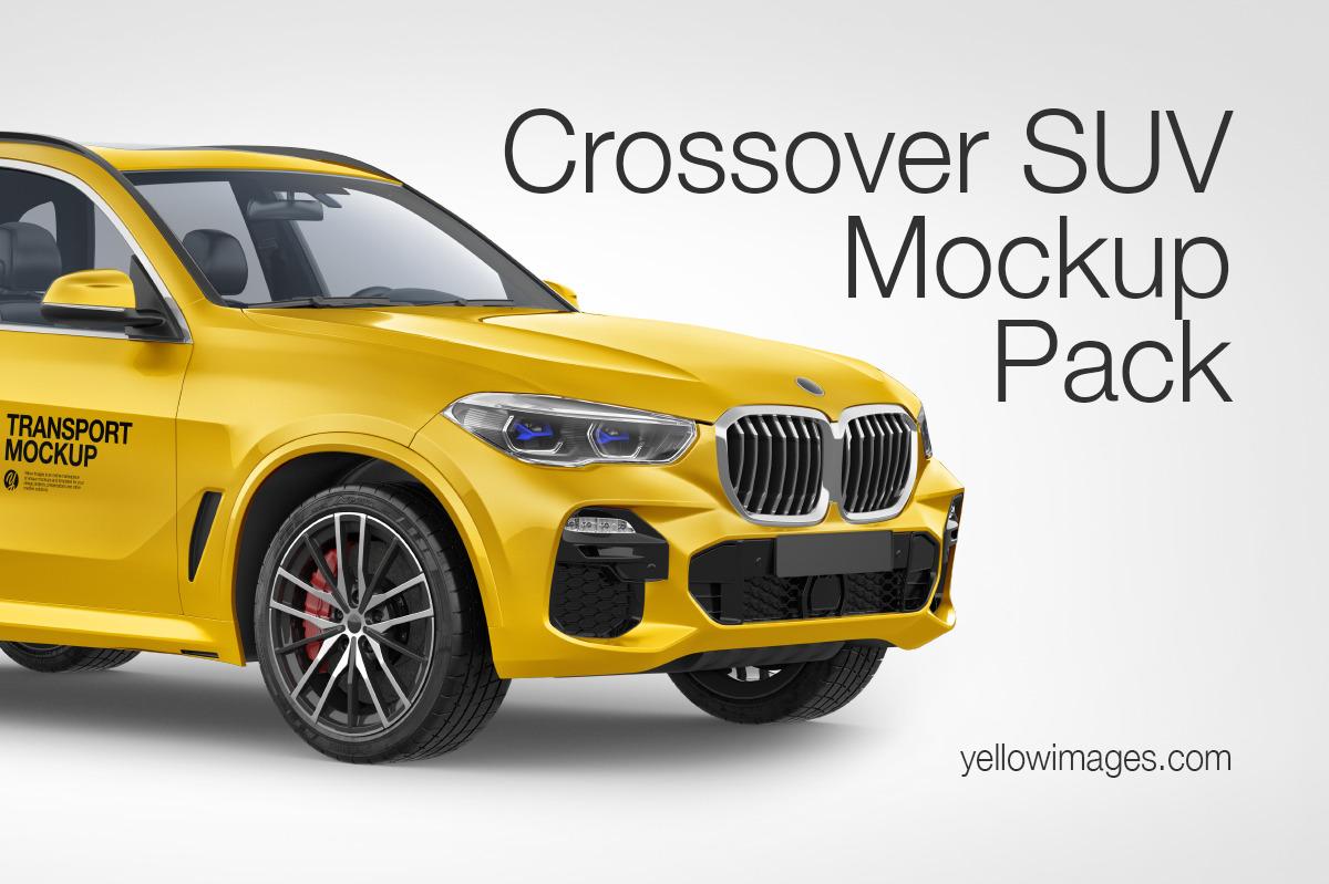 Crossover SUV Mockup Pack