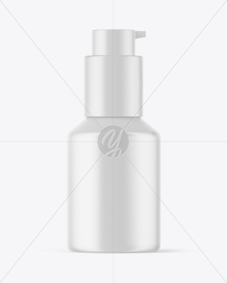 Download Metallic Cosmetic Bottle With Pump Mockup In Bottle Mockups On Yellow Images Object Mockups PSD Mockup Templates