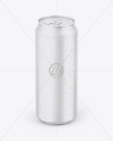 Matte Can Mockup