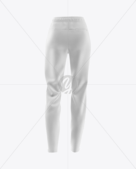 Women's Pants Mockup - Back View