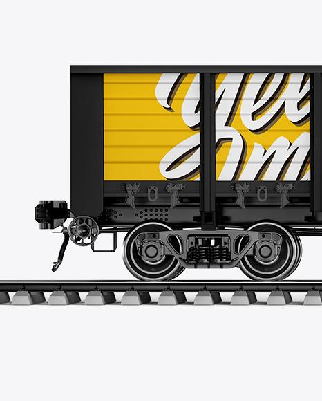 Railroad Car Mockup