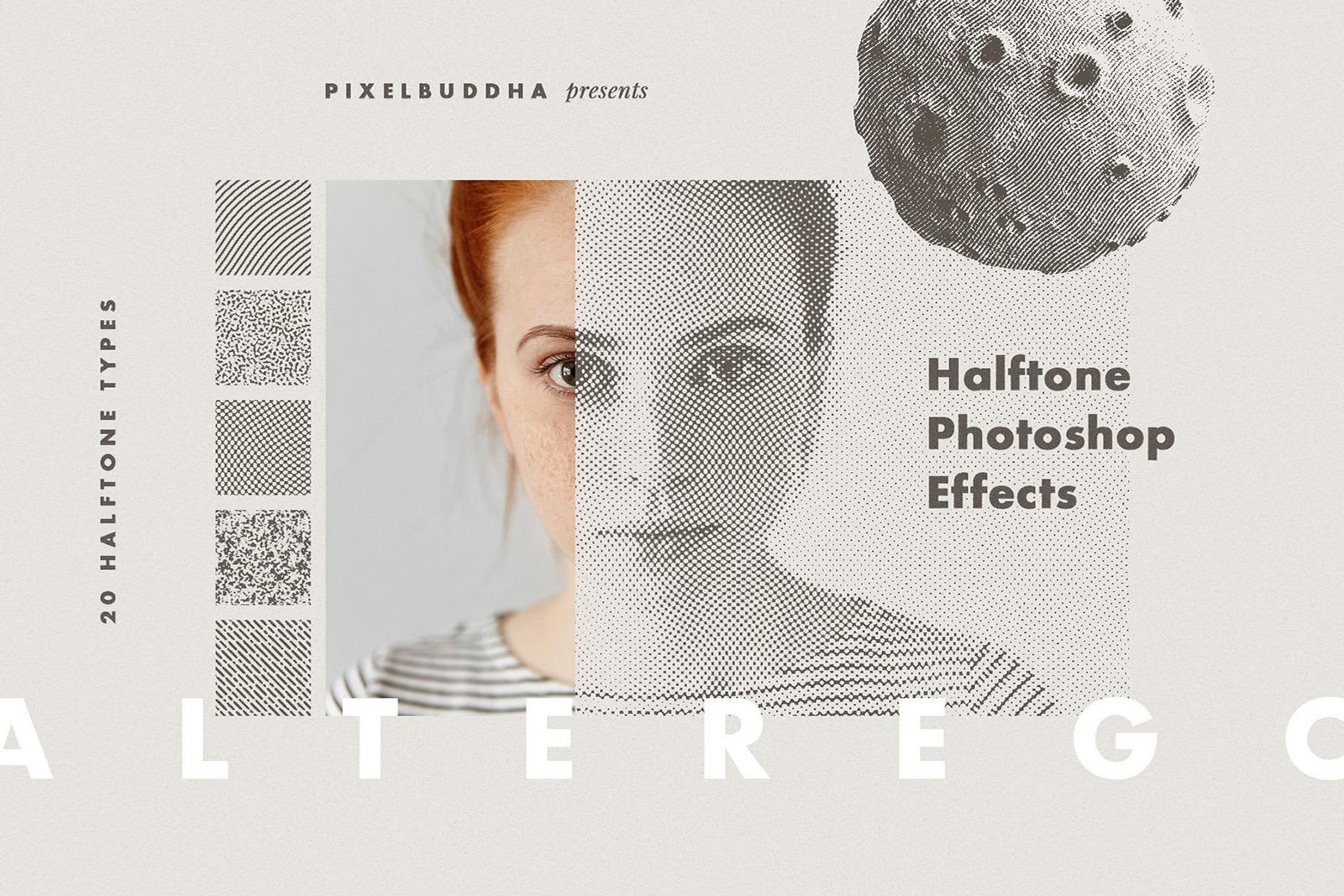 Alter Ego Halftone Photoshop Effect