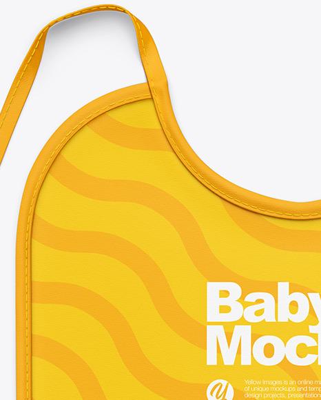 Baby Bib Mockup