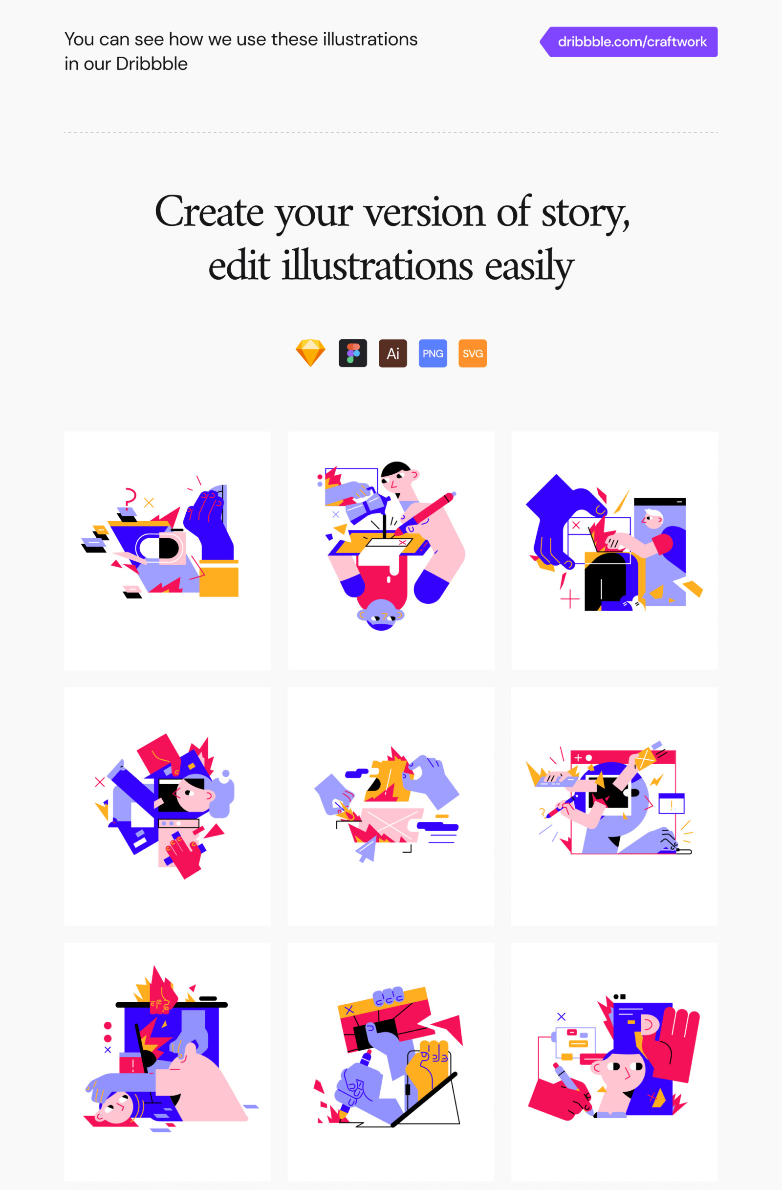 RAW Illustrations