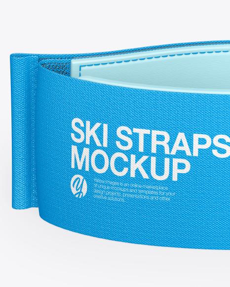 Ski Strap Mockup