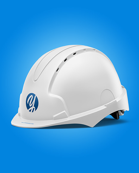Download Matte Hard Hat Mockup Half Side View Yellowimages