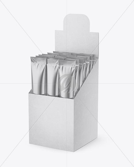 Opened Box w/ 20 Metallic Sachets