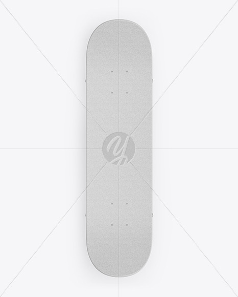 Download Skateboard Mockup - Top View Free Mockups
