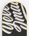 Skateboard Mockup - Top View