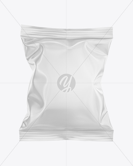Glossy Chips Bag Mockup