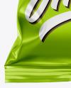 Metallic Chips Bag Mockup