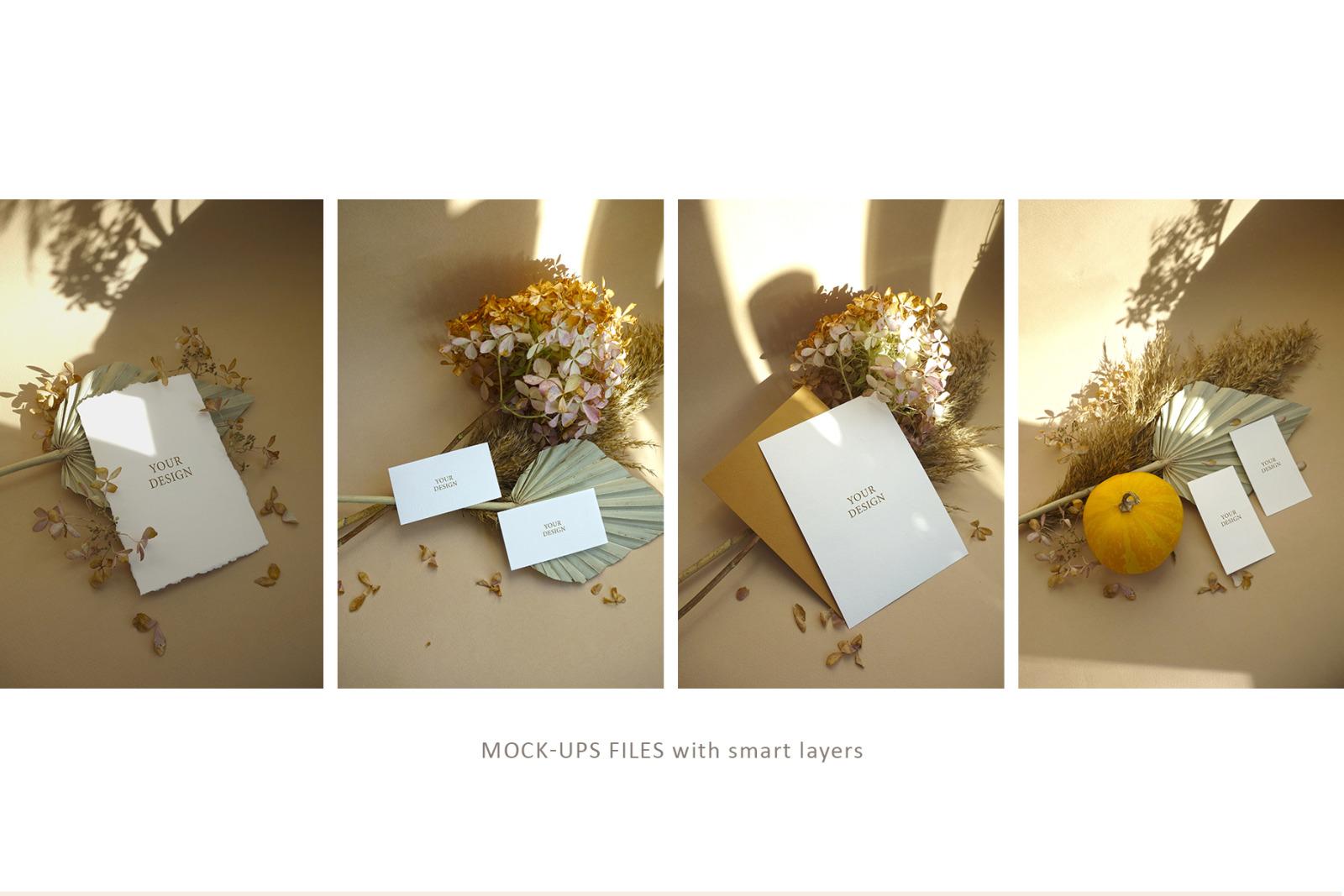 Warm November - Mockups & Photos