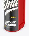 Matte Salt Jar Mockup