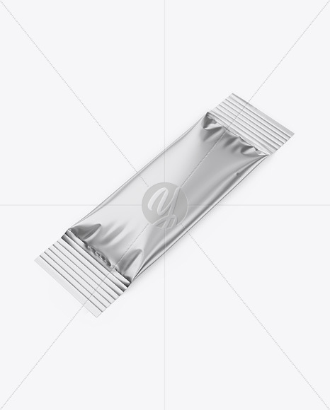 Metallic Stick Sachet - Half Side View