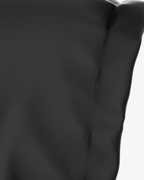 Zipped Hoodie Mockup - Right Side View