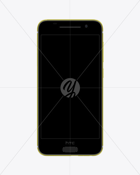 Acid Gold HTC A9 Phone Mockup