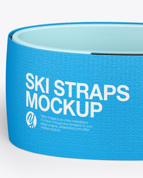 Download Ski Straps Mockup Yellowimages
