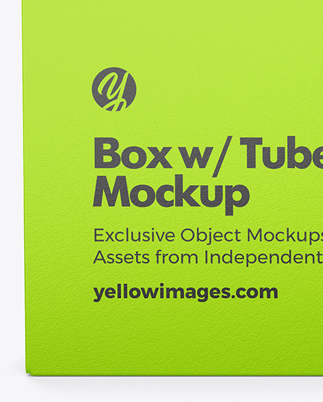 Box w/ Tubes w/ Weed Joints Mockup
