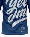 Men's Long Sleeve T-Shirt Mockup - Back View