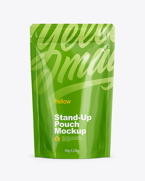 Metallic Stand Up Pouch with Zipper