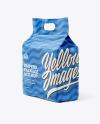 Diaper Paper Bag Mockup