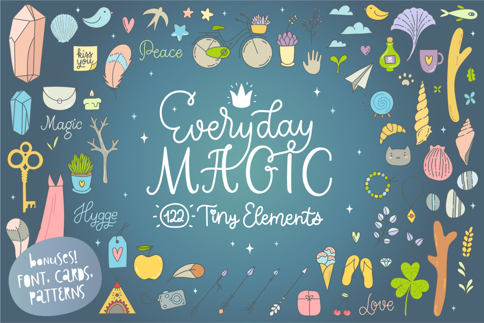 Everyday Magic Vector Set + BONUSES