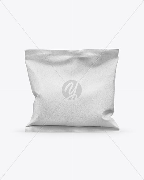 Kraft Snack Bag Mockup