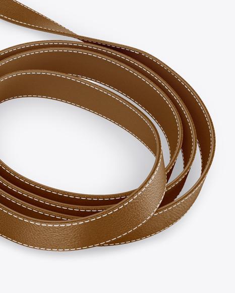 Leather Leash Mockup