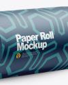Matte Paper Roll Mockup