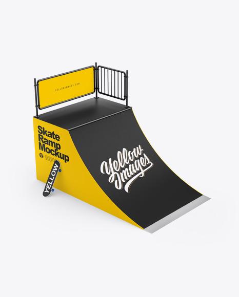 Skate Ramp Mockup