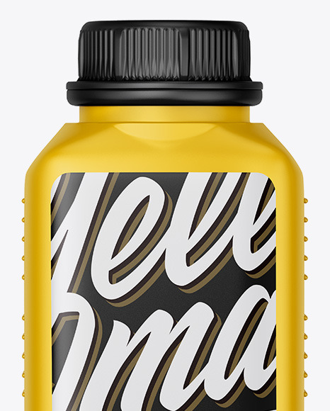 Matte Motor Oil Bottle Mockup
