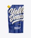 Glossy Doy-Pack Mockup