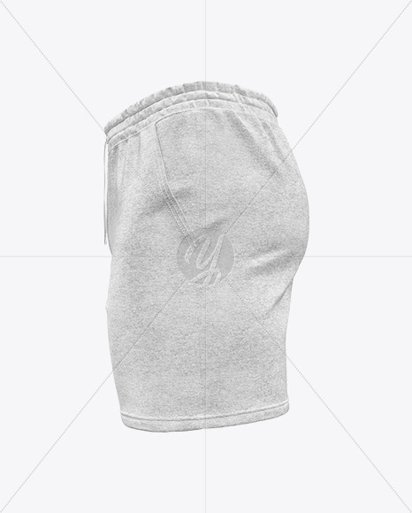 Melange Men's Shorts Mockup