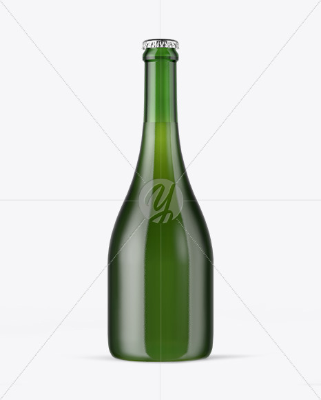 Download Green Glass Beer Bottle Clamp Lid Mockup PSD - Free PSD Mockup Templates