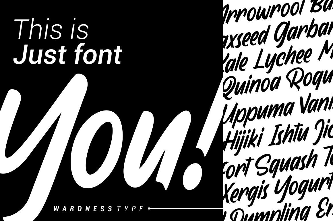 Wardness - Display Font