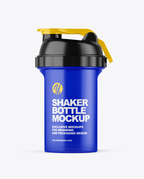Download Shaker Bottle PSD Mockup